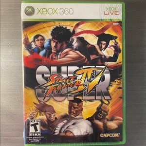 Super Street Fighter IV Xbox 360 New Sealed